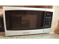 Morphy Richards E1 Combination Microwave - Silver