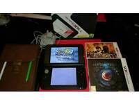 Nintendo 3ds xl & games