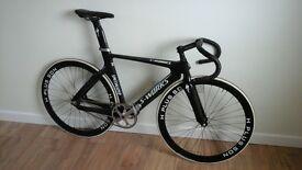 Carbon track bike 54cm