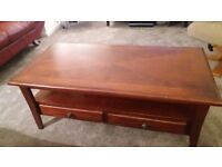 SOFAS TV UNIT AND COFFEE TABLE