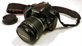 Canon EOS 450D 12.2 MP DSLR Camera + 18-55mm EFS f/3.5-5.6 Perfect Condition