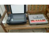 Sony vhs dvd recorder ,vhs,printer