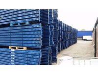 joblot 50 bays of mecalux pallet racking AS NEW( storage , shelving )