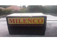 Milenco Security Handle Door Fixing Kit