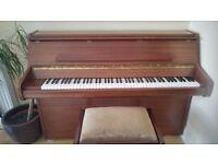 Upright Bentley 1980's Piano
