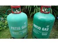 13kg propane patio gas bottles