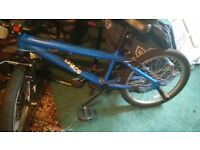 CHOAS Blue BMX 20 inch bike