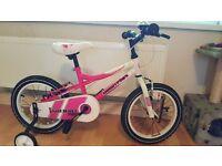 She wolf girls 15 inch wheel bike