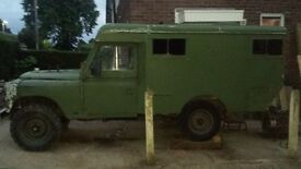 Land rover series 3 parts