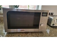 De'Longhi combination microwave oven and grill.