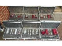 Diamond dry core drill bit sets
