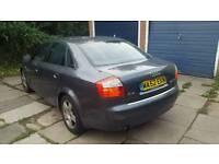 2003 Audi A4 FSI SE 2.0 Grey Petrol Saloon
