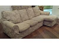 Fabric sofa £300