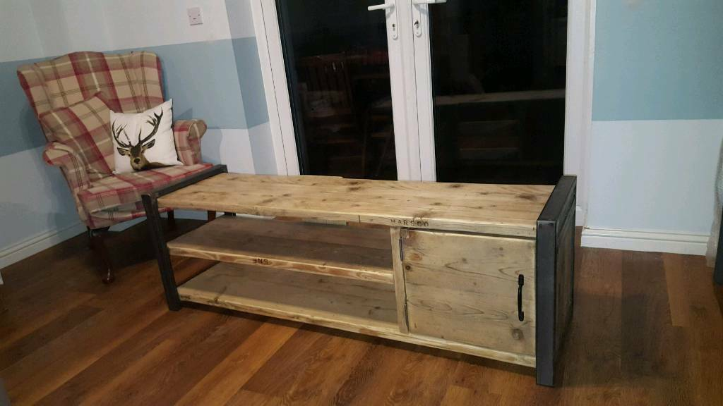 Industrial TV cabinet / stand