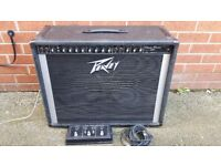 Peavey classic chorus 212 400w amp with foot switcher!Can deliver or post!Can deliver or post