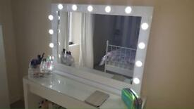 Hollywood Vanity Makeup Mirrors - Cheapest in UK. - Sale 20% off All Mirrors