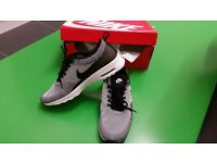 Authentic 100% BNIB Women Nike Air Max Thea KJCRD Black White Stripe Size UK 7.5
