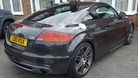 Audi TT 2.0 TFSI Black Edition S Tronic Quattro 3dr SAT NAV , Mint Condition, Low Mileage, 2 Owners