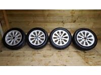BMW ONE ALLOY WHEELS with run flat tyres 5x120pcd