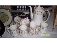 Paragon Rosamunda Coffee Set (bone china)