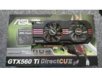 Asus GTX 560 Ti 1GB DDR5 830mhz overclock graphics card