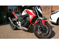 Honda CB500 FA / Street / Naked / Commuter / Low Mileage / Good First Bike / 1 Owner / Like New
