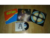 3 x vinyl LP's - steve hillage rainbow dome / L / open + promo single
