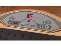 vibration massage gold plate