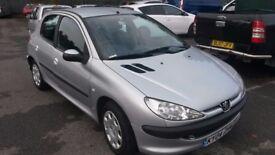 2004 Peugeot 206 1.4 litre £790