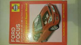 HAYNES MANUAL FORD FOCUS 2001-2005 / 51 TO 05 REG PETROL&DIESEL 4167