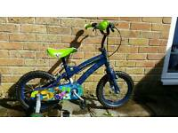 Boys 14 inch Ben 10 bike in perfect working order and ready to ride. Bigger bike forces sale.