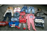 Boy's clothes Age 1 1/2 yr to 2yrs. All from Next. Job lot.
