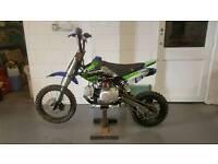 Demon X pit bike 110 cc (with brand new parts)
