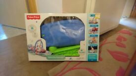 Fisher price kick and play piano gym blue