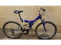 Unisex mountain bike MAGNA ASCENT Frame 18''