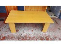 Modern Wood Effect Coffee Table