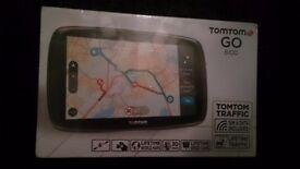Tomtom go 6100 lifetime world maps satnav