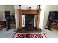 Adam S3X-V active monitors speakers pair with quality stands and Mogami XLR cables, like new, boxed