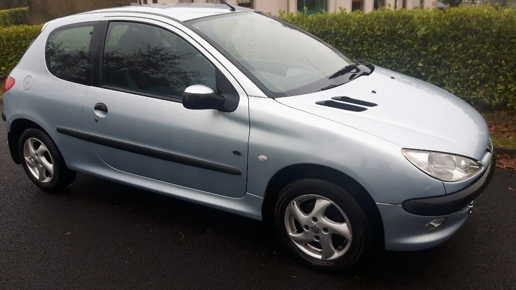 2004 peugeot 206 1 4 hdi diesel mot 39 d july 2018 750 ono cheap tax insurance in ballymena. Black Bedroom Furniture Sets. Home Design Ideas