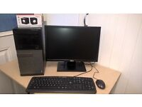 Dell OptiPlex 3010, Intel dual core, 4gb ram,500gb hdd,Windows 10. Complete PC. (NORTH DORSET,SP8)