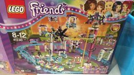 Lego friends theme park set