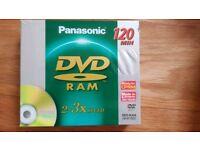 Blank DVD Rams