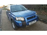 Left Hand Drive Freelander Sports 41,500 Miles in London