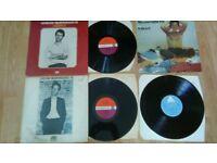 6 x Loudon wainwright III - LP's / 7 inch / promo