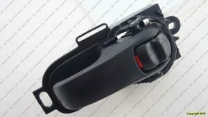 Door Handle Inner Front  Driver Side Sedan/H-Back Black Nissan VERSA HATCH BACK 2007-2009
