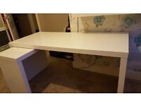 Ikea Malm Pull out panel desk