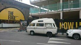 VW T25 1988 Campervan with full years MOT