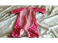 Girls 9-12 month swimming suit