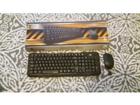 WIRELESS KEYBOARD AND MOUSE (hardly every used)