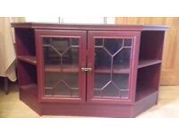 FREE TV cabinet - mohagony colour